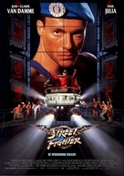 Street Fighter - German Movie Poster (xs thumbnail)