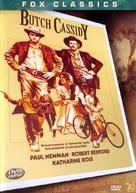Butch Cassidy and the Sundance Kid - Brazilian DVD cover (xs thumbnail)