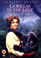 Gorillas in the Mist: The Story of Dian Fossey - British DVD cover (xs thumbnail)