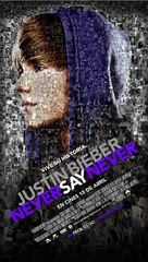 Justin Bieber: Never Say Never - Spanish Movie Poster (xs thumbnail)