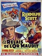 Hangman's Knot - Belgian Movie Poster (xs thumbnail)