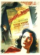 Shadow of a Doubt - French Movie Poster (xs thumbnail)