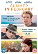 Summer in February - British DVD cover (xs thumbnail)