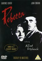 Rebecca - British DVD cover (xs thumbnail)