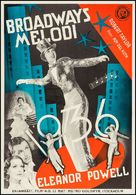 Broadway Melody of 1936 - Swedish Movie Poster (xs thumbnail)
