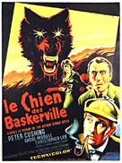 The Hound of the Baskervilles - French Movie Poster (xs thumbnail)