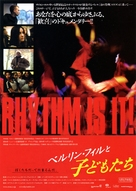 Rhythm Is It! - Japanese Movie Poster (xs thumbnail)