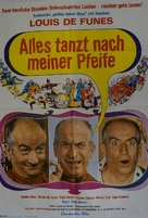 L'homme orchestre - German Movie Poster (xs thumbnail)