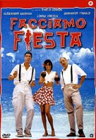 Facciamo fiesta - Italian DVD movie cover (xs thumbnail)