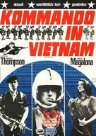 A Yank in Viet-Nam - German Movie Poster (xs thumbnail)