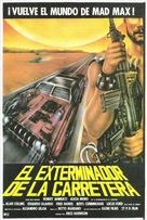 Exterminators of the Year 3000 - Spanish Movie Poster (xs thumbnail)