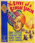 The Lives of a Bengal Lancer - Movie Poster (xs thumbnail)