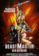 The Beastmaster - German Movie Poster (xs thumbnail)