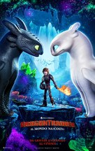 How to Train Your Dragon: The Hidden World - Italian Movie Poster (xs thumbnail)