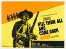 Ammazzali tutti e torna solo - British Movie Poster (xs thumbnail)