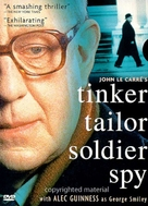 """Tinker, Tailor, Soldier, Spy"" - DVD movie cover (xs thumbnail)"