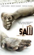 Saw - DVD cover (xs thumbnail)
