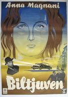 Molti sogni per le strade - Swedish Movie Poster (xs thumbnail)