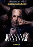Nobody - Croatian Movie Poster (xs thumbnail)