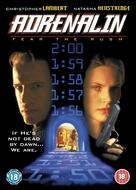 Adrenalin: Fear the Rush - British DVD movie cover (xs thumbnail)