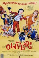 Oliver! - Swedish Movie Poster (xs thumbnail)