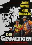 The War Wagon - German Movie Poster (xs thumbnail)