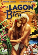 The Blue Lagoon - French Movie Cover (xs thumbnail)