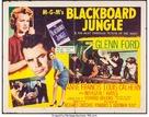 Blackboard Jungle - Movie Poster (xs thumbnail)