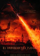 Reign of Fire - Spanish Movie Poster (xs thumbnail)