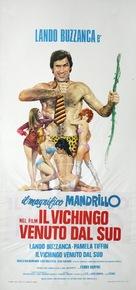 Il vichingo venuto dal sud - Italian Movie Poster (xs thumbnail)