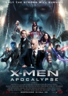 X-Men: Apocalypse - Swedish Movie Poster (xs thumbnail)