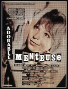 Adorable menteuse - French Movie Poster (xs thumbnail)
