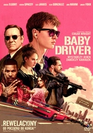 Baby Driver - Polish Movie Cover (xs thumbnail)