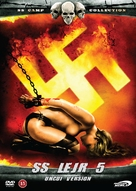 SS Lager 5: L'inferno delle donne - Danish DVD cover (xs thumbnail)