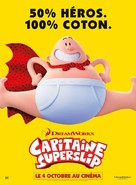 Captain Underpants - French Movie Poster (xs thumbnail)