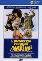La dottoressa preferisce i marinai - Italian DVD movie cover (xs thumbnail)
