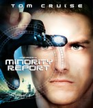 Minority Report - Blu-Ray movie cover (xs thumbnail)