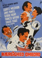 Luxury Liner - Danish Movie Poster (xs thumbnail)