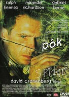 Spider - Hungarian DVD cover (xs thumbnail)