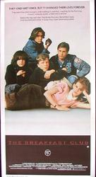 The Breakfast Club - Australian Theatrical poster (xs thumbnail)