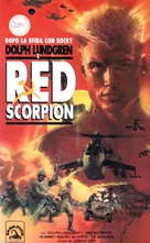 Red Scorpion - Italian VHS movie cover (xs thumbnail)