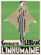 L'inhumaine - French Movie Poster (xs thumbnail)