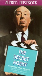 Secret Agent - VHS cover (xs thumbnail)