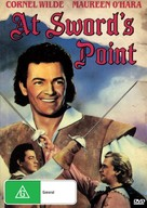 At Sword's Point - Australian DVD movie cover (xs thumbnail)