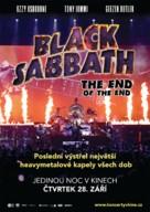 Black Sabbath the End of the End - Czech Movie Poster (xs thumbnail)