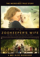 The Zookeeper's Wife - Dutch Movie Poster (xs thumbnail)