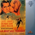 North by Northwest - French Movie Cover (xs thumbnail)