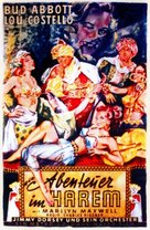 Lost in a Harem - German VHS movie cover (xs thumbnail)