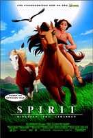 Spirit: Stallion of the Cimarron - Norwegian Movie Poster (xs thumbnail)