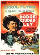 Dodge City - Spanish Movie Poster (xs thumbnail)